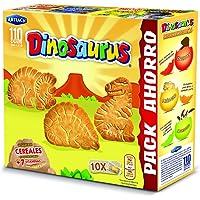 Artiach - Galletas Dinosaurus Superfamiliar, paquete de 10, 411 g