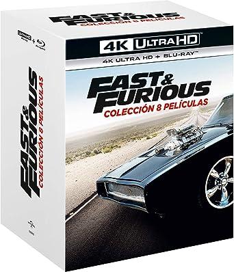Pack. A Todo Gas - Películas 1-8 4K UHD + BD Blu-ray: Amazon.es ...
