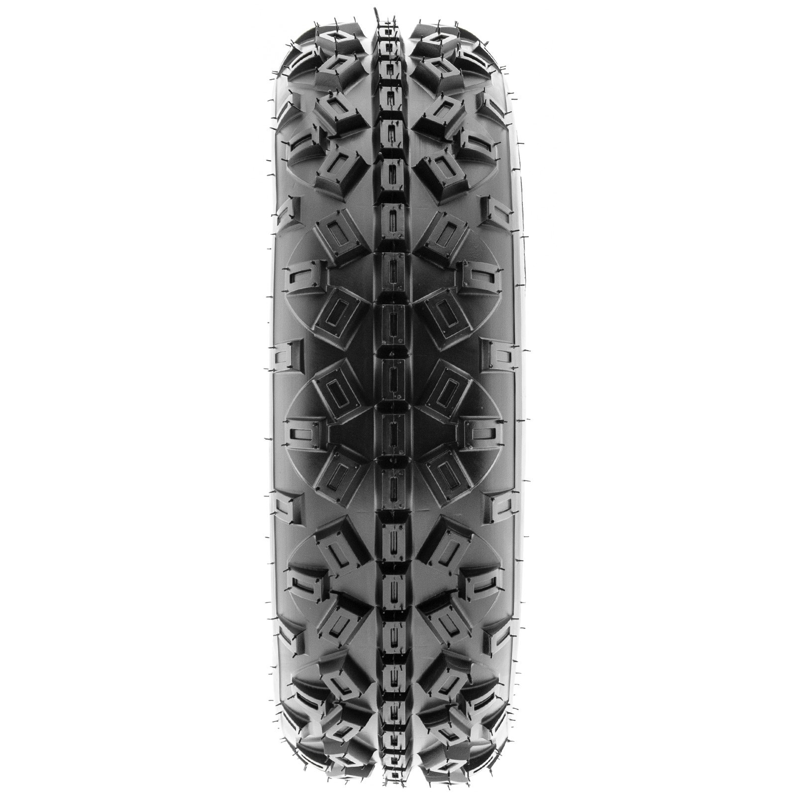 SunF Knobby XC MX ATV Tires 21x6-10 & 20x11-9 6 PR A035 (Full set of 4, Front & Rear) by SunF (Image #4)