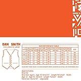 Dan Smith DGEE0013-12 Purple Children Solid Vest