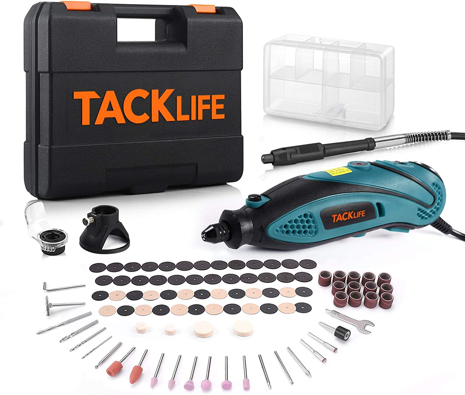 TACKLIFE  Multi-functional  RTD35ACL Rotary Tool Kit $31.97
