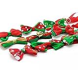 Liaoshanshan 9 Piece Pet Christmas Bowtie Holiday