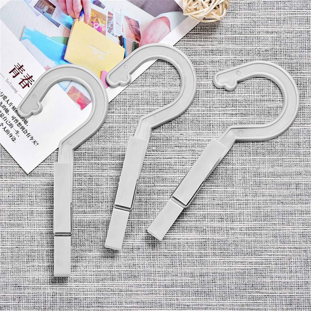 3pcs/Set Mini Hanger Easy Hook Home For Travel Windproof Bag Hanger Underwear Hanger