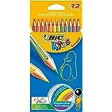 BIC Kids Tropicolors 2 Crayons de Couleur - Etui  Carton de 12