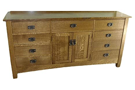 Build Your Own Mission Dresser Plan American Furniture Design