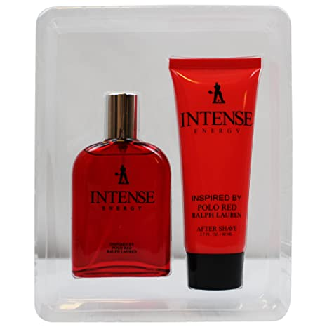 Amazon.com : Intense Energy Mens 2 Piece Fragrance Gift Set, Includes - Eau De Toilette & After Shave - Inspired By Red : Beauty