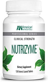 product image for American Nutriceuticals – Nutrizyme – 120 Tablets – Professionally Formulated Proteolytic Enzyme Complex – Supports Immunity, Circulation & Metabolic Balance