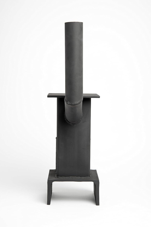 mini wood coal burning stove amazon co uk garden u0026 outdoors