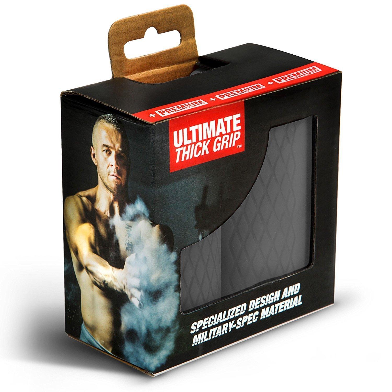 + Premium - La última de grosor Grip - Puños de barra y mancuernas de grosor - aumento bíceps, antebrazo, tríceps, y en el pecho entrenamientos, ...