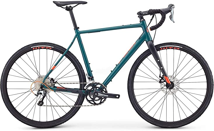 Fuji Jari 1.5 Adventure Road Bike 2020 - Bicicleta de carretera (satén, 56 cm, 700 c), color verde: Amazon.es: Deportes y aire libre