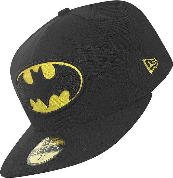 Básico Divisa Batman - Batman, 7 5/8 - 61cm (XL): Amazon.es: Ropa ...