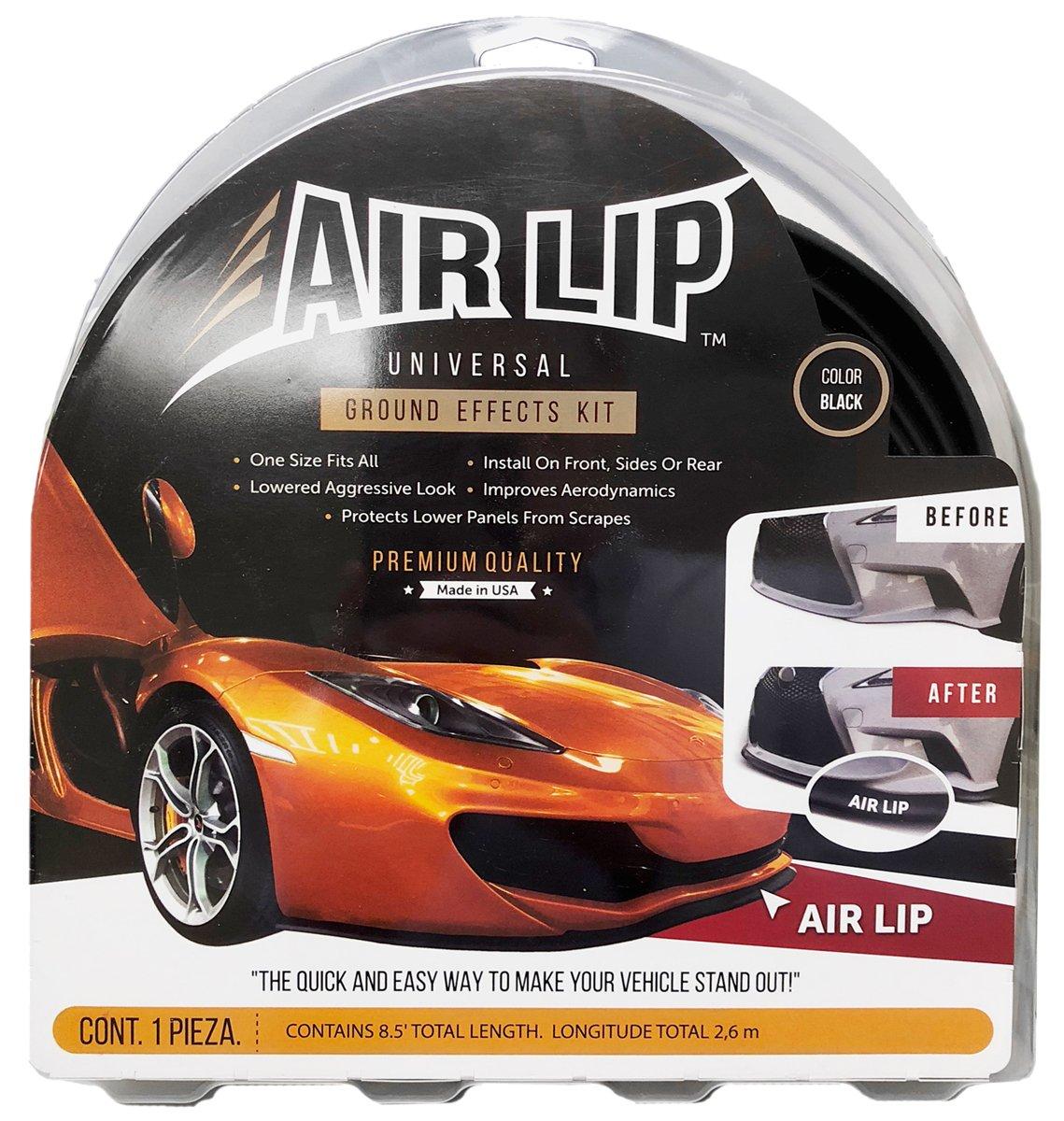 8 x 6 Black Universal Ground Effects Air Lip Kit