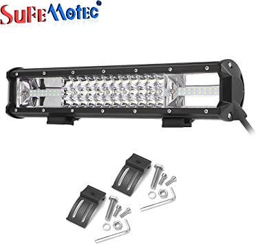4D 52inch 300W CREE LED Work Light Bar Spot Flood Combo Offroad Truck 4WD JEEP