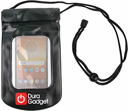 DURAGADGET Funda Impermeable Negra para Smartphone ...