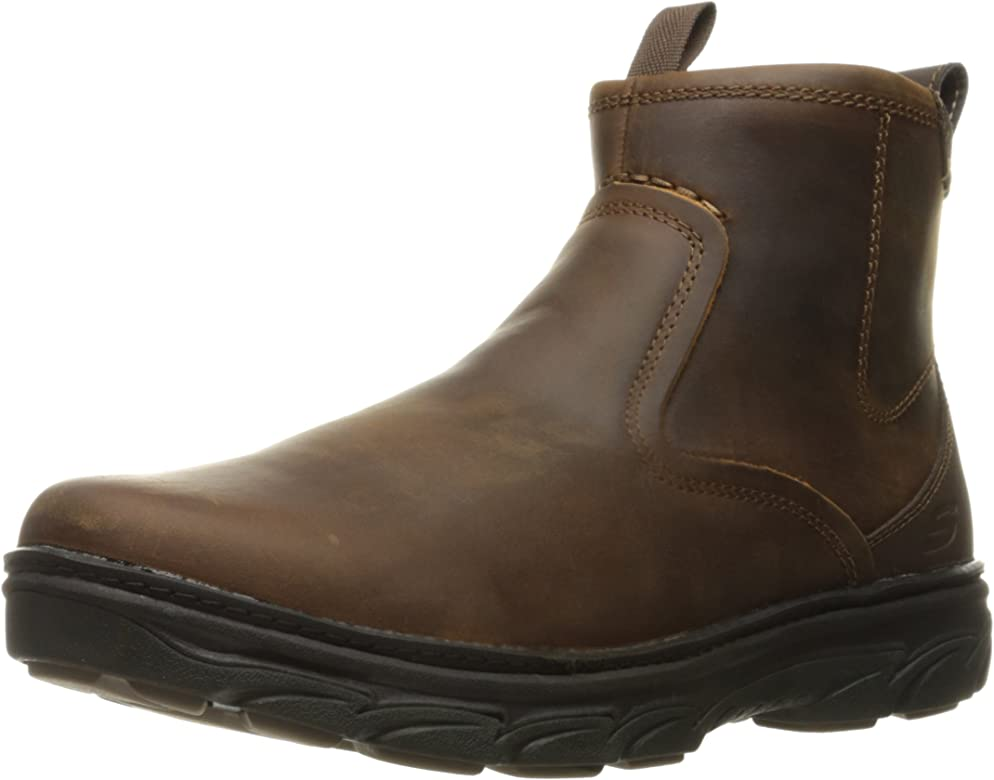 Amazon.com | Skechers mens Relaxed Fit