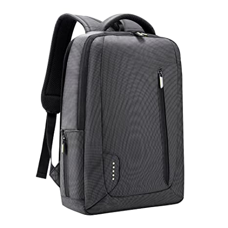 7aae6e30699d Slim Laptop Backpack, Anti Theft Durable Travel Business Backpack, Water  Resistant College School Computer Bag for Women and Men, Lightweight  Student ...