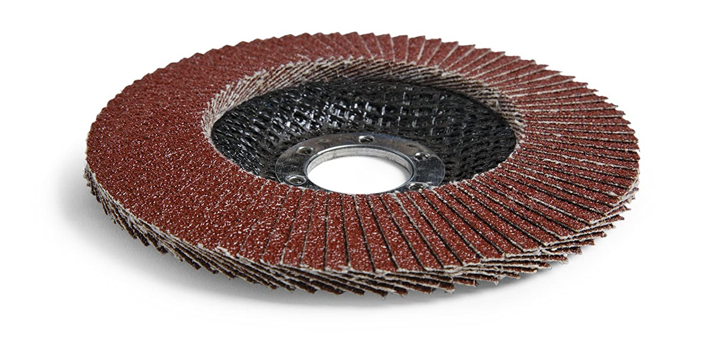 Pack of 10 Brown 3M Cubitron II Flap Disc 967A Ceramic Grain 60+ Grit 4-1//2 Diameter 4-1//2 Diameter Cloth Type 29