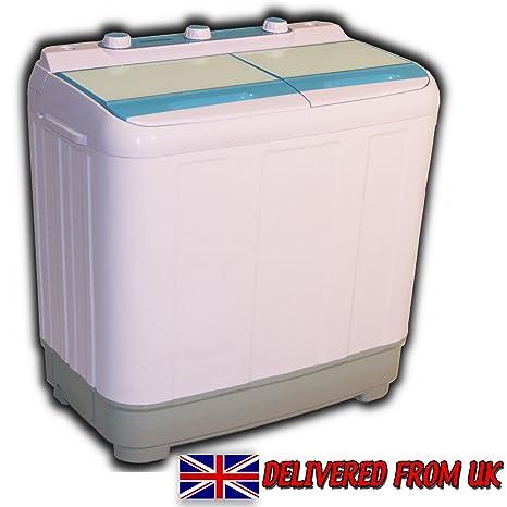 Lavadora y secadora para caravana (6,5 kg), portátil, carga ...