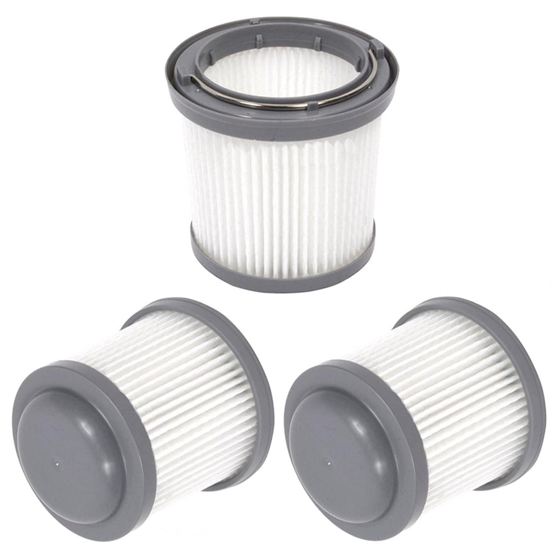 Spares2go plisado filtro principal para Black /& Decker mano Dustbuster aspiradora Pack de 3