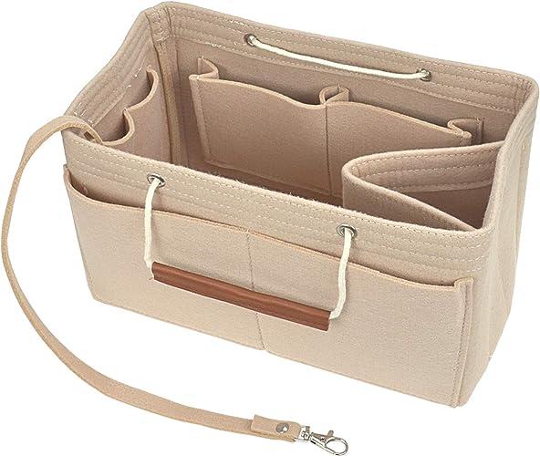 Ivory Speedy 35 Waterproof Sturdy Liner Bag Insert Organizer with Base Shaper