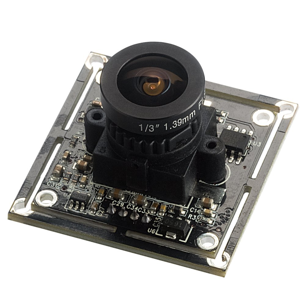 Spinel 2MP full HD USB Camera Module OV2710 with Fisheye Lens FOV 185 degree, Support 1920x1080@30fps, UVC Compliant, Suppport Most OS, Focus Adjustable, UC20MPB_F185