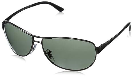 a2bf38a9b6 Ray-Ban Men s 0rb3342 Polarized Aviator Sunglasses