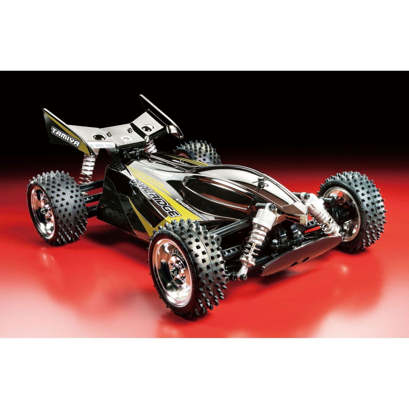 タミヤ RC特別企画商品 1/10 電動RCカー ドュアルリッジ ブラックメタリック (TT-02Bシャーシ) オフロード 47355 B071S1W848