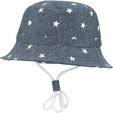 Cloudkids Baby Kids Cotton Bucket Hat Sun Protection Wide Brim Breathable Mesh Summer Travel Beach Safari Hat