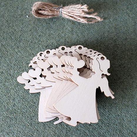 10x WOODEN MORTAR BOARD SHAPES gift tag craft card make scrapbook embellishment