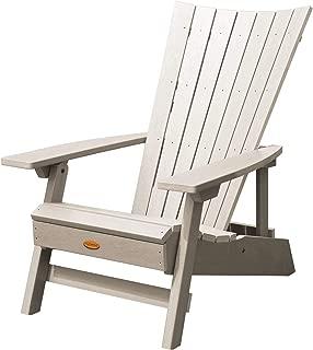 product image for Highwood AD-ADRID29A-WAE Manhattan Beach Adirondack Chair, One Size, Whitewash