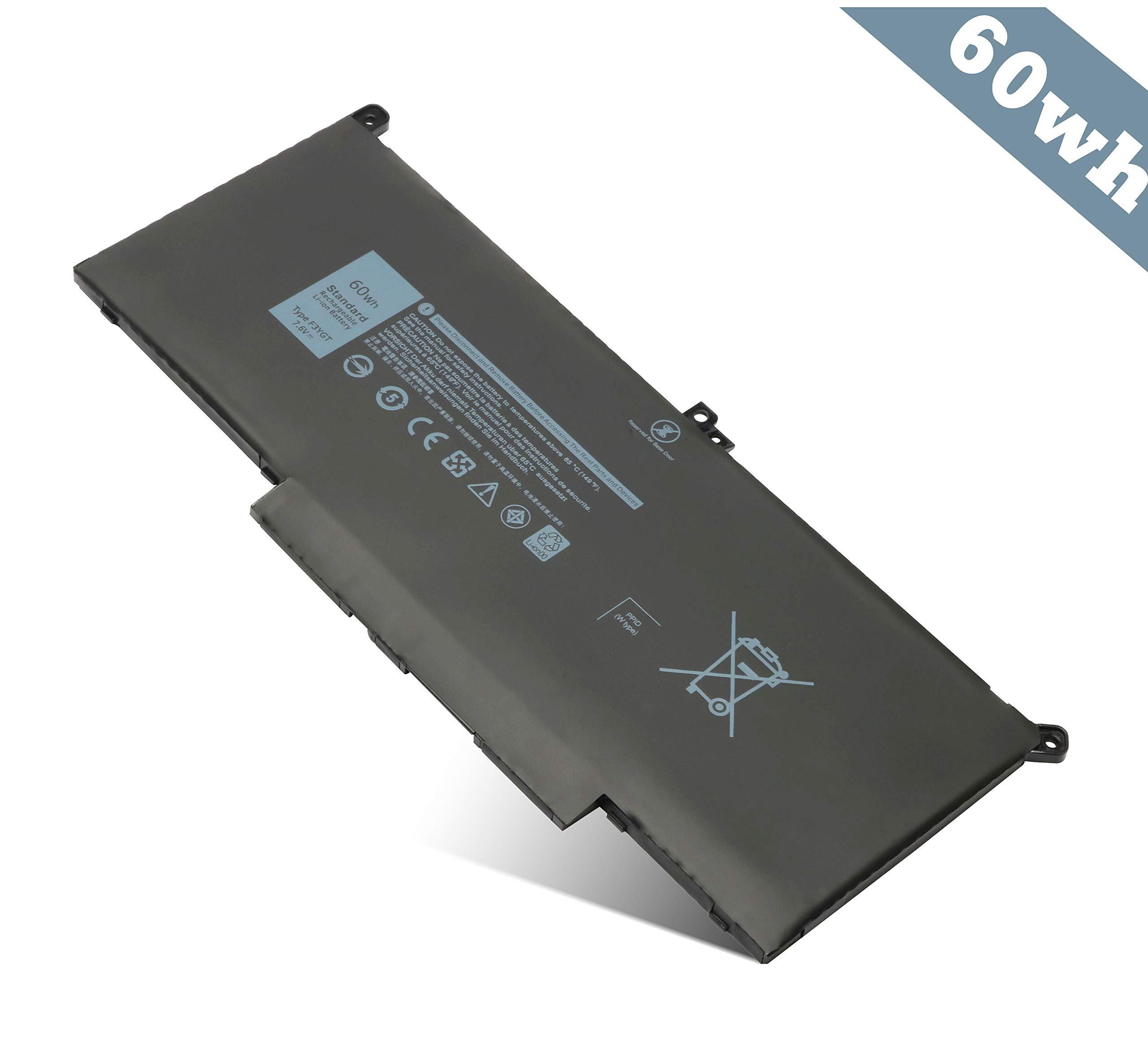 Bateria E7280 E7480 F3YGT Dell Latitude 12 7000 7290 7380 73