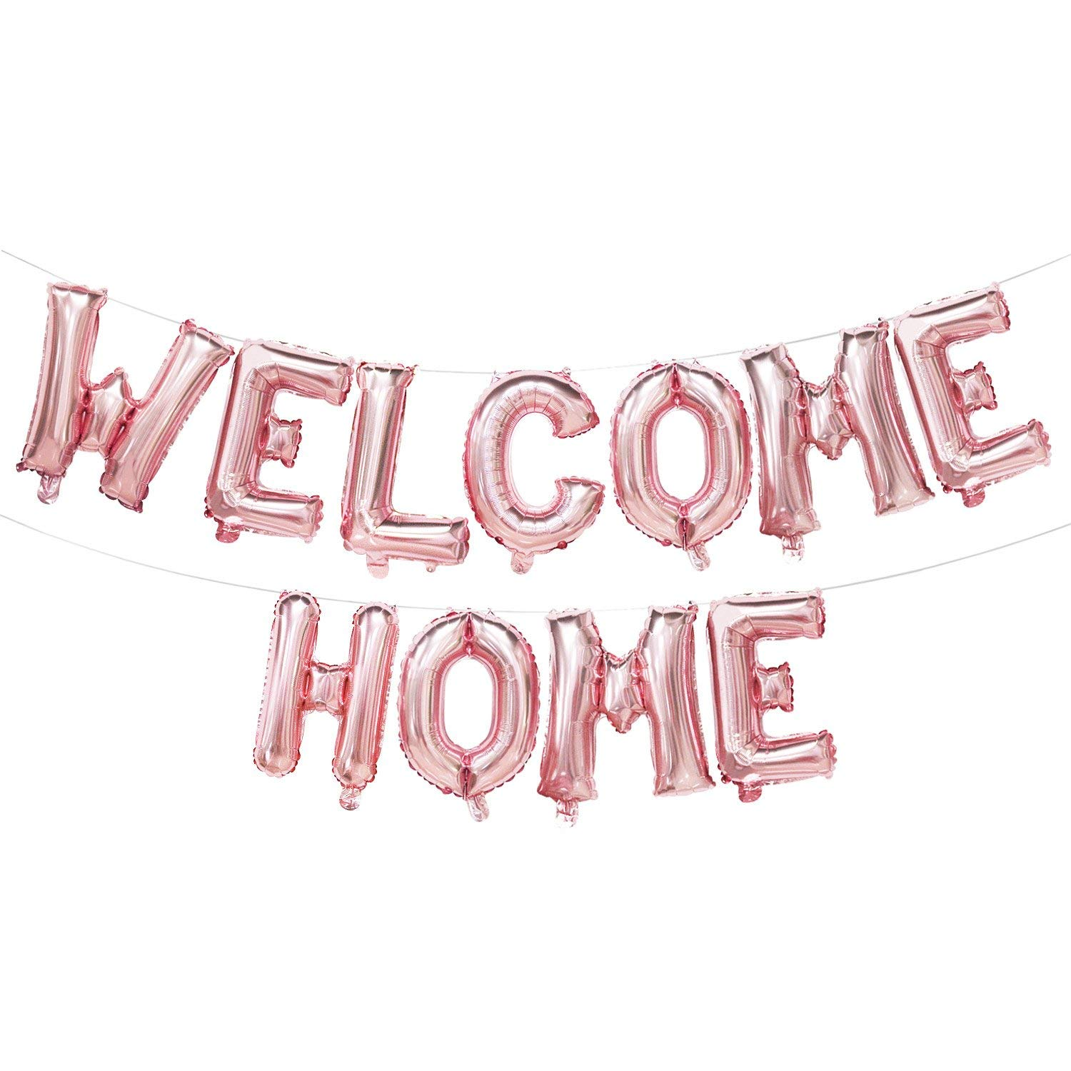 Welcome Home Banners and Signs - Welcome Home Balloons Letters - Welcome Home Party Decorations - Family Party Supplies