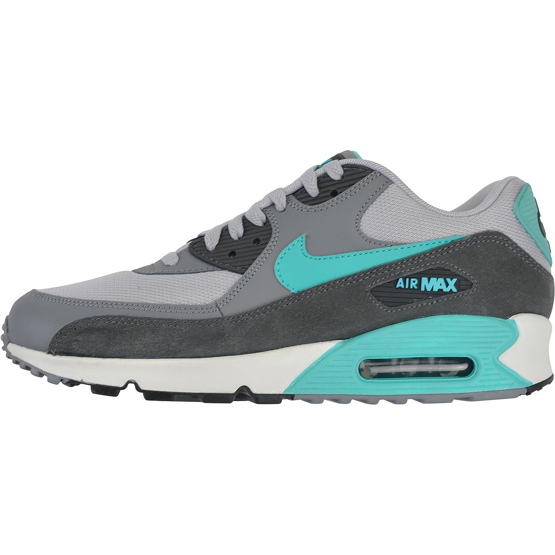 Nike Air Max 90 Essential 537384 033 Grau,Türkis , 45.5