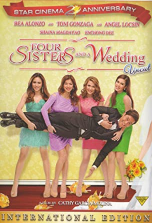 Amazon.com: Four Sisters and a Wedding Filipino DVD: Bea Alonzo