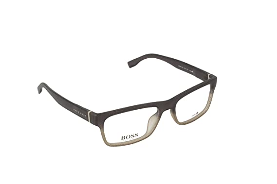 0a8715fc1ad Amazon.com  Optical frame Hugo Boss Optyl Grey (BOSS 0729 KAC)  Clothing