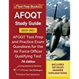 AFOQT Study Guide 2020-2021: AFOQT Test Prep and Practice Exam Questions for the Air Force Officer Qualifying Test [7th Editi