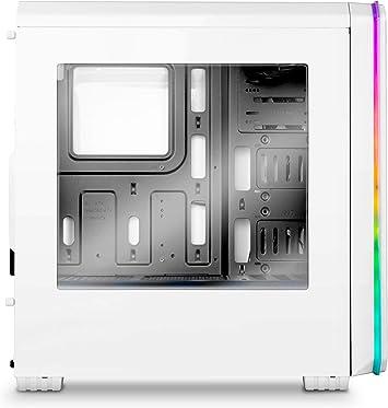 Nox Hummer MC PRO ARGB -NXHUMMERMCPROW- Caja PC, Semi-Torre, tira ...