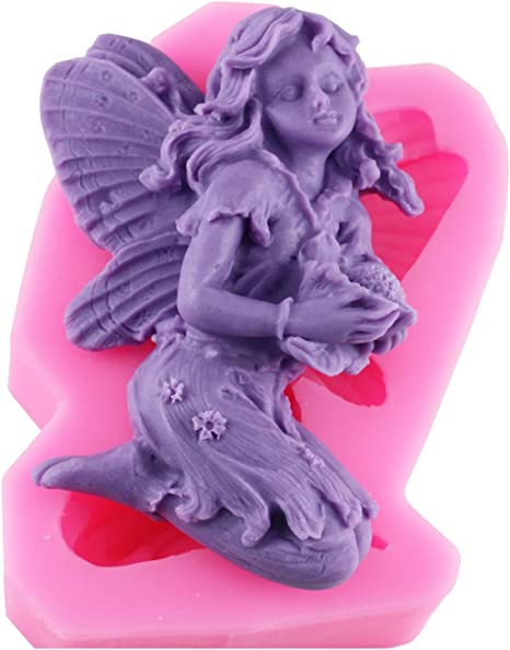 Silicone Mold Mould Sugarcraft Candle Soap Chocolate Polymer Clay Melting Wax Resin Tools Ornament Handmade Baby Angel #5
