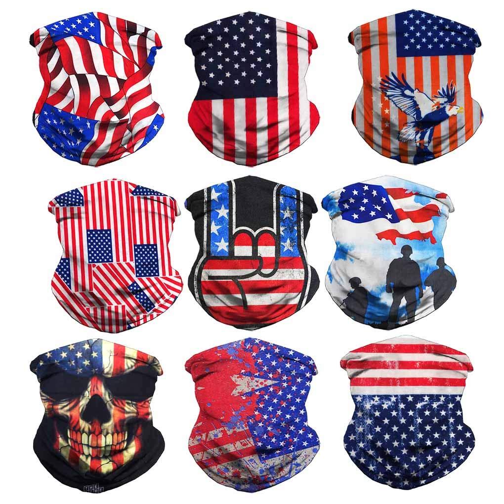 VCZUIUC Headband Face Mask Bandana Head Wrap Scarf Neck Warmer Headwear Balaclava for Sports