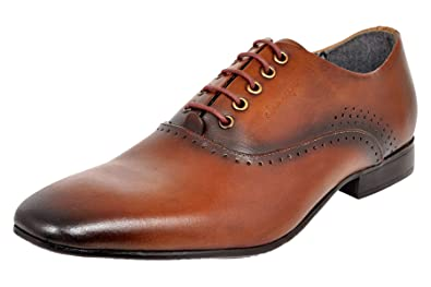 3c4bb22f54d0 Allen Cooper ACFS-12158 Genuine Premium Leather Oxford Formal Shoes for Men   Buy Online at Low Prices in India - Amazon.in