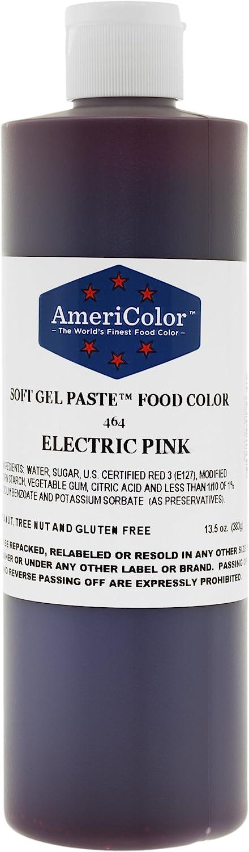 Americolor Food Color Electric Pink 13.5 Oz