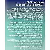 Clean & Clear Oil-Free Deep Action Cream Facial