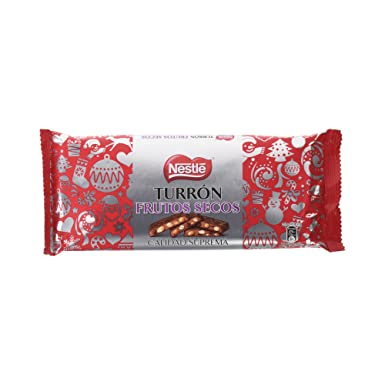 Nestlé - Turrón de Chocolate Frutos Secos, 230 g