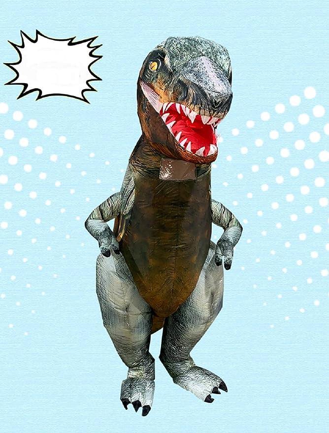 Amazon.com: T-Rex - Disfraz inflable de dinosaurio con ...