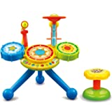 Electronic Junior Rock Band Baby Learning Musical Drum Set