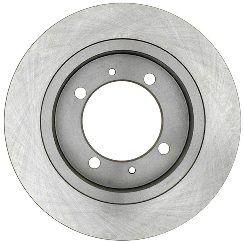 ACDelco 18A1487A Advantage Non-Coated Rear Disc Brake Rotor