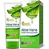 Oriental Botanics Aloe Vera, Green Tea & Cucumber After Sun Gel - No Silicone, Paraben, 100ml