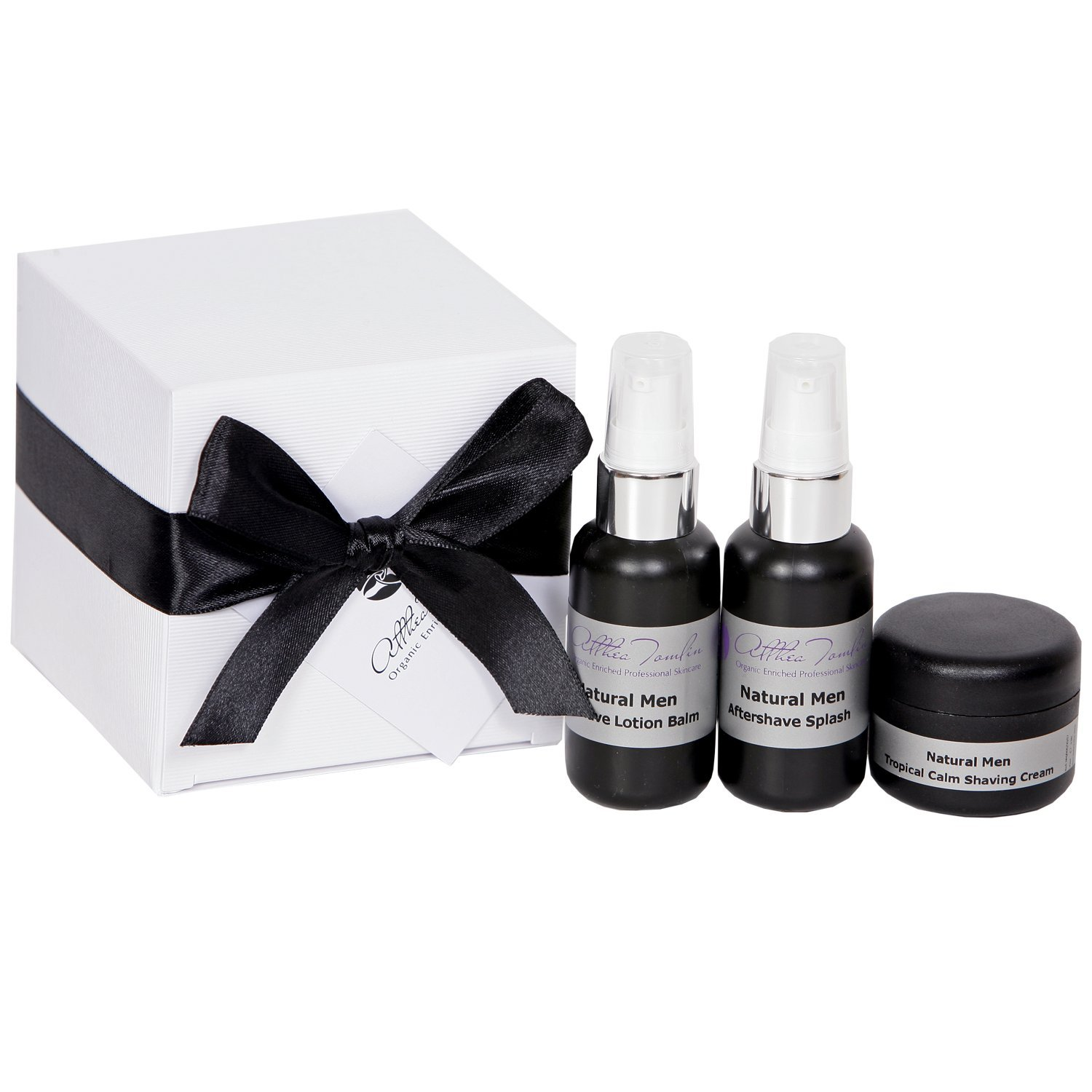 Christmas mens shaving gift set with organic shaving cream lotion balm and aftershave spritz a mens shaving set with shea cocoa butter and calendula to calm and relief irritable skin after shaving. Althea Tomlin Limited