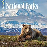 National Parks 2018 7 x 7 Inch Monthly Mini Wall Calendar, USA United States of America Scenic Nature (English, French and Spanish Edition)