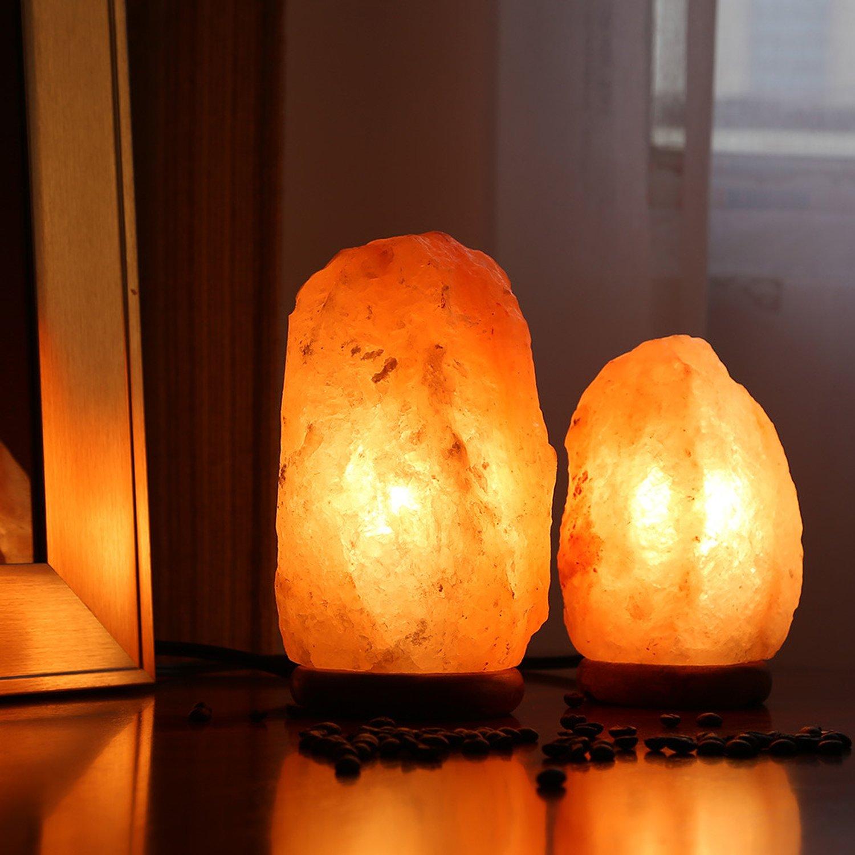 Himalayan Glow 1001 Salt Lamp, ETL Certified himalayan pink salt lamp, Home Décor Table lamps | 5-8 lbs by WBM by Himalayan Glow (Image #6)